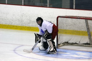 Hockey goalie